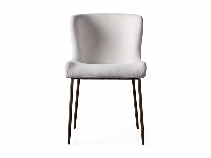 """Kirsten 20"""" Dining Side Chair Nomad Snow, slide 7 of 8"""