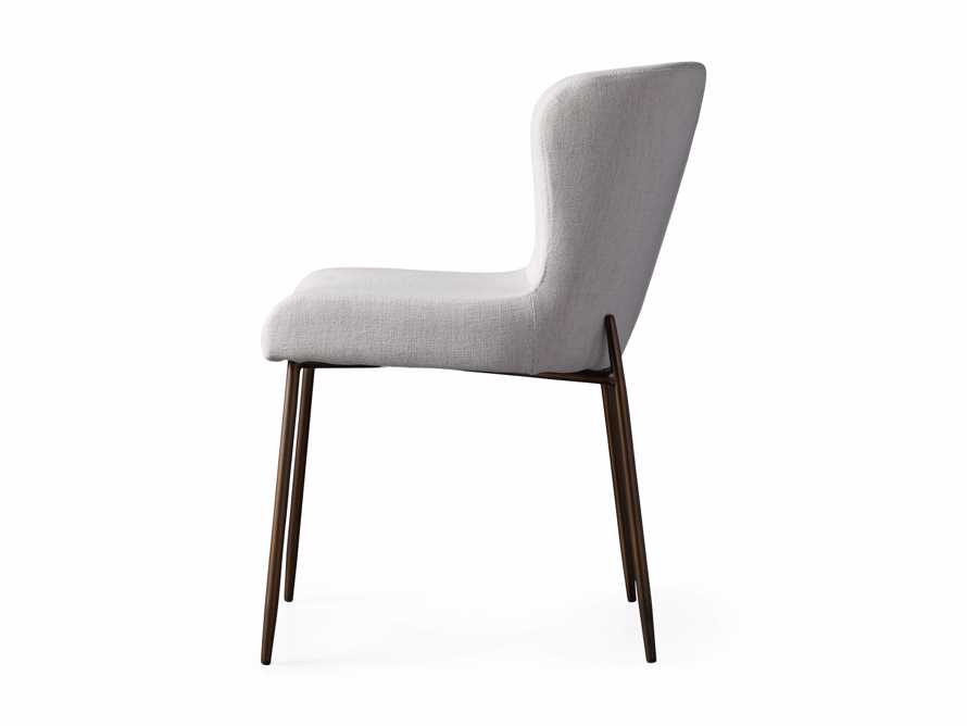 """Kirsten 20"""" Dining Side Chair Nomad Snow, slide 8 of 8"""