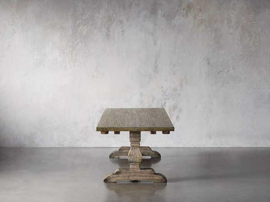 "Kensington Oak 118"" Extension Dining Table in Earl Grey, slide 5 of 15"