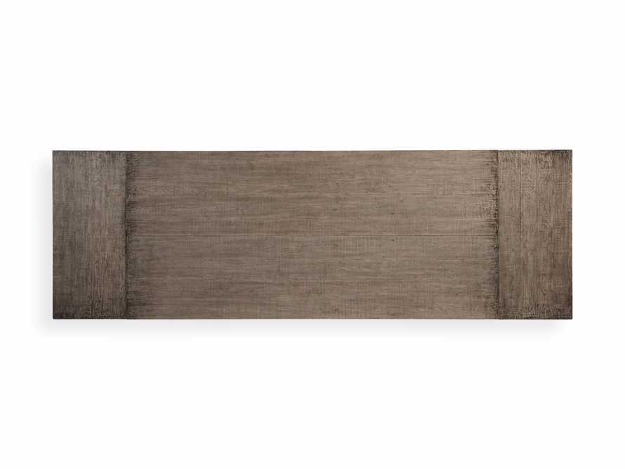 "Kensington Oak 118"" Extension Dining Table in Earl Grey, slide 15 of 15"
