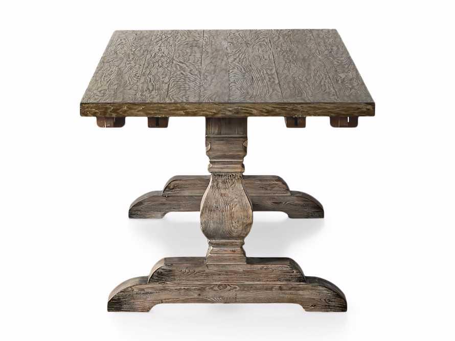 "Kensington Oak 118"" Extension Dining Table in Earl Grey, slide 13 of 15"