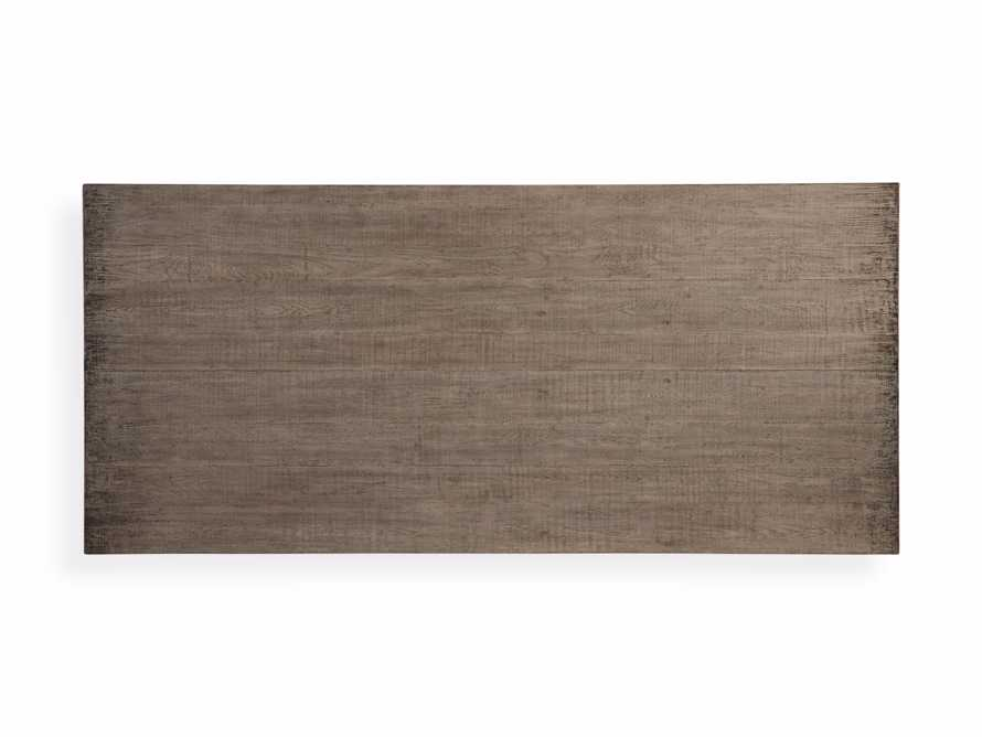 """Kensington 118"""" Rectangle Extension Dining Table Top In Earl Grey, slide 13 of 14"""