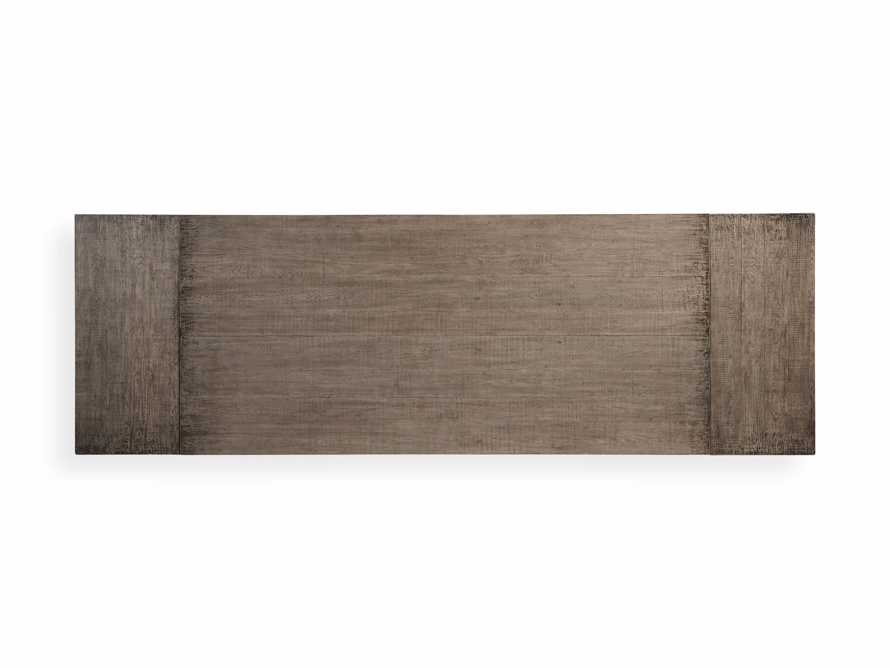 """Kensington 118"""" Rectangle Extension Dining Table Top In Earl Grey, slide 14 of 14"""