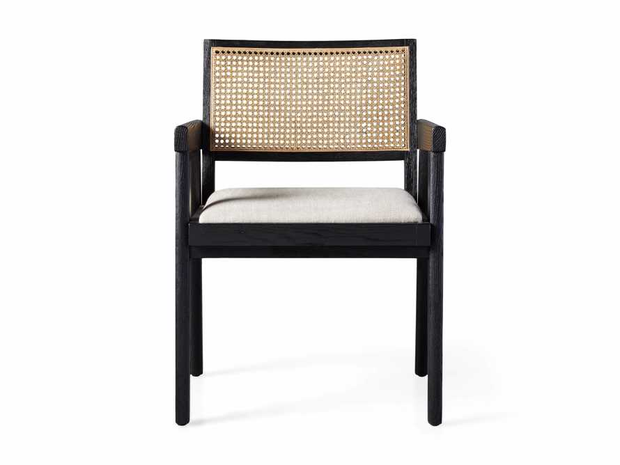 """Kroy Cane Back 23"""" Dining Arm Chair, slide 7 of 8"""
