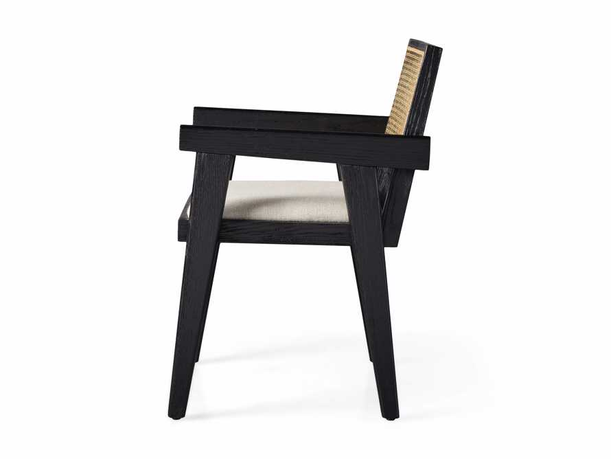 """Kroy Cane Back 23"""" Dining Arm Chair, slide 8 of 8"""