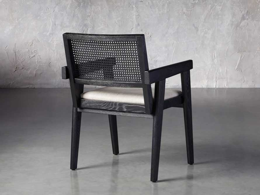 """Kroy Cane Back 23"""" Dining Arm Chair, slide 4 of 8"""