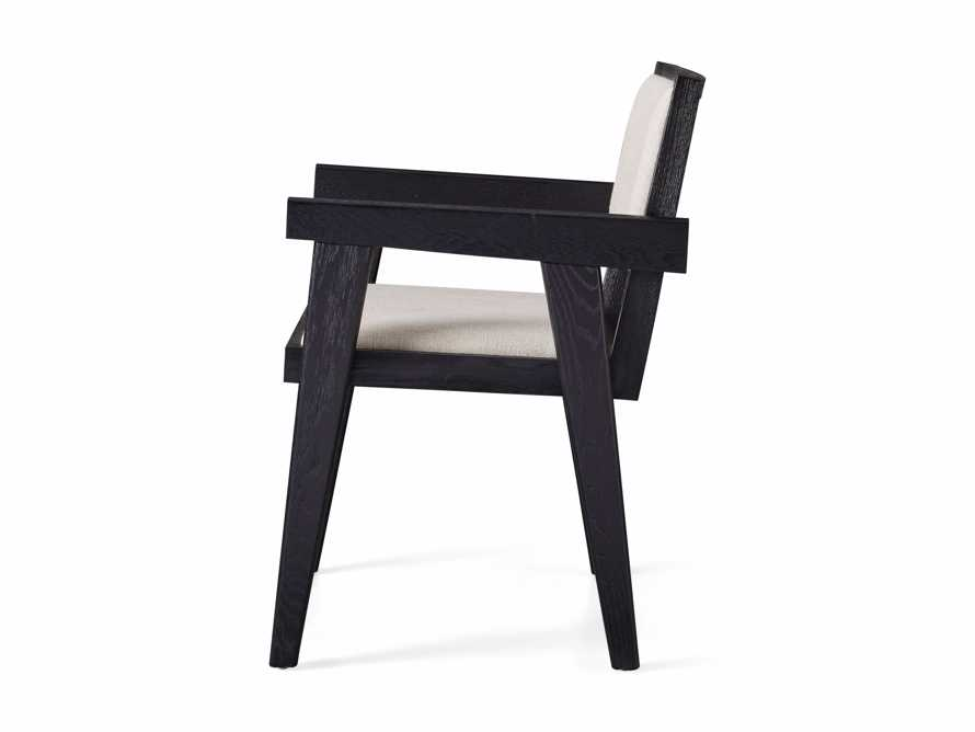 "Kroy Upholstered 23"" Dining Arm Chair, slide 7 of 7"
