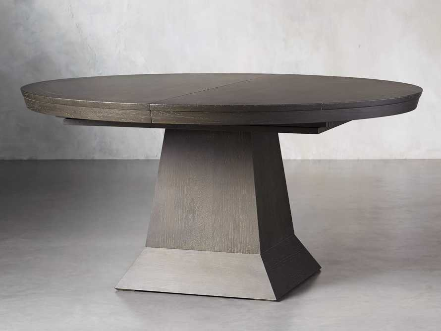 "Leighton 62"" Dining Table in Northman Cinder, slide 3 of 11"