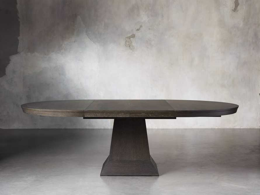"Leighton 62"" Dining Table in Northman Cinder, slide 4 of 11"