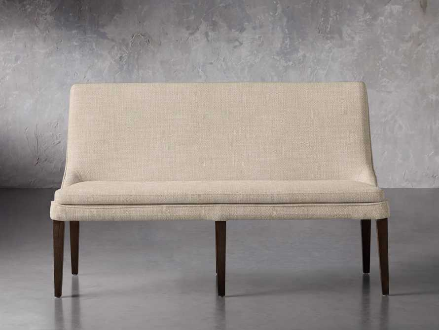 """Lunden 25"""" Bench in Crypton Nomad Linen, slide 1 of 2"""