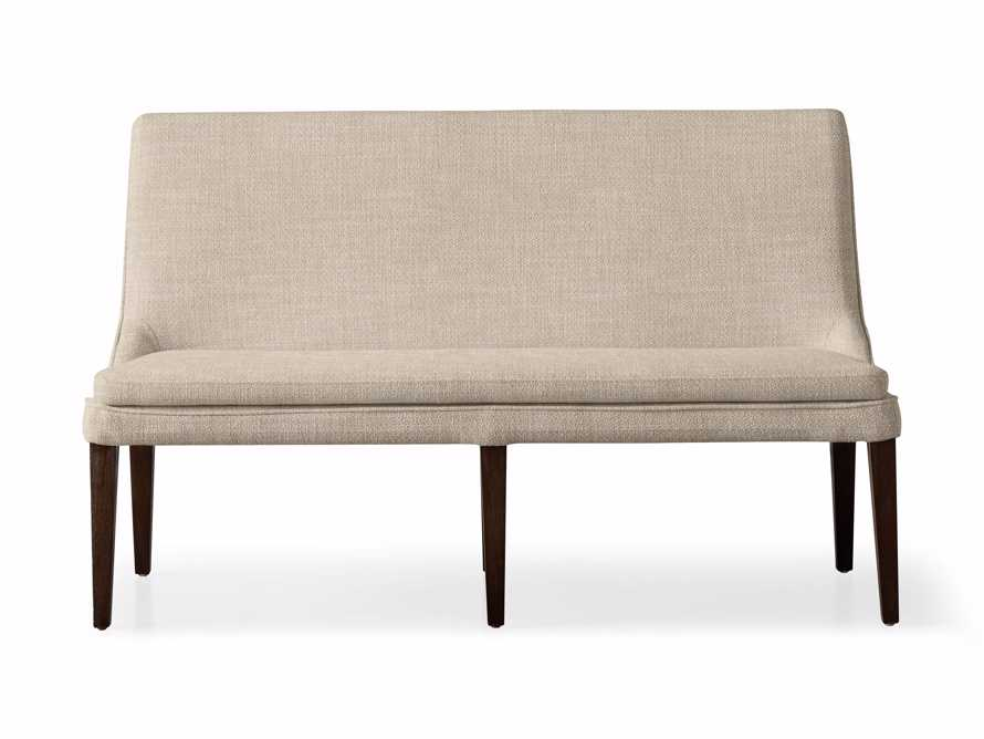 """Lunden 25"""" Bench in Crypton Nomad Linen, slide 2 of 2"""