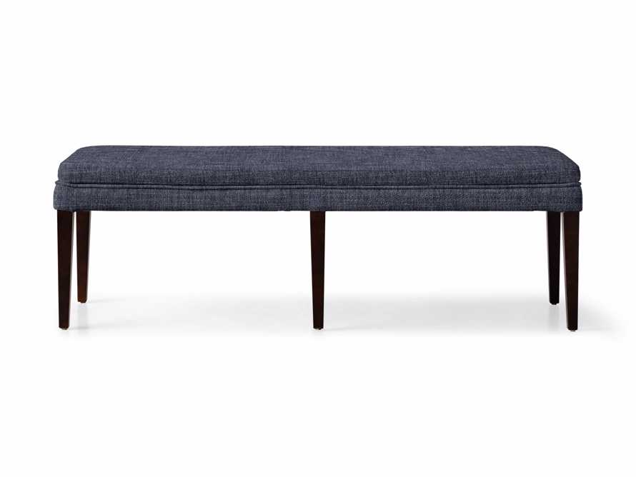 """Lunden 18"""" Backless Bench in Crypton Nomad Navy, slide 2 of 2"""