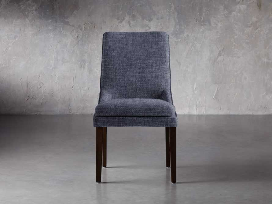 """Lunden 25"""" Dining Side Chair in Crypton Nomad Navy, slide 1 of 2"""