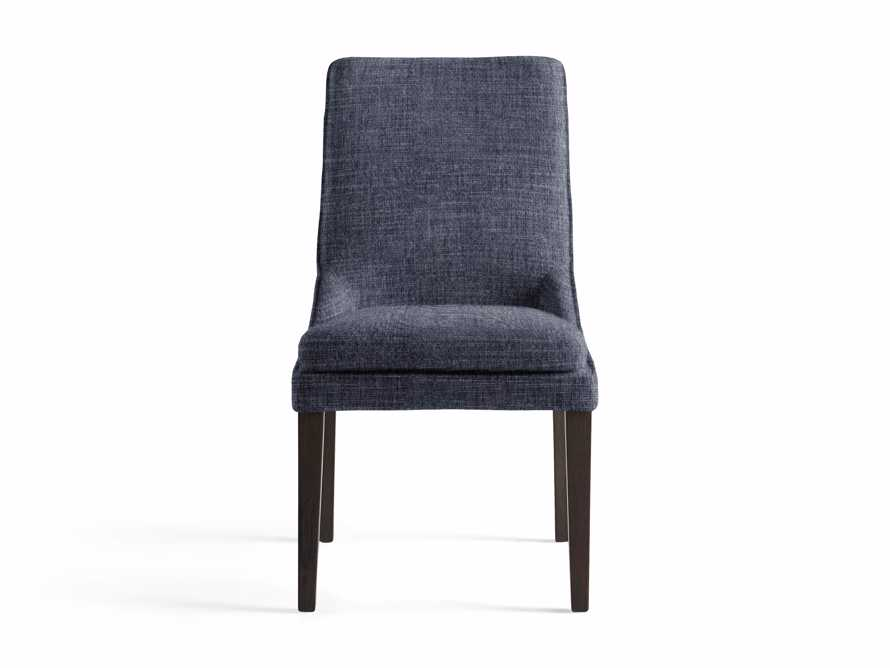 """Lunden 25"""" Dining Side Chair in Crypton Nomad Navy, slide 2 of 2"""