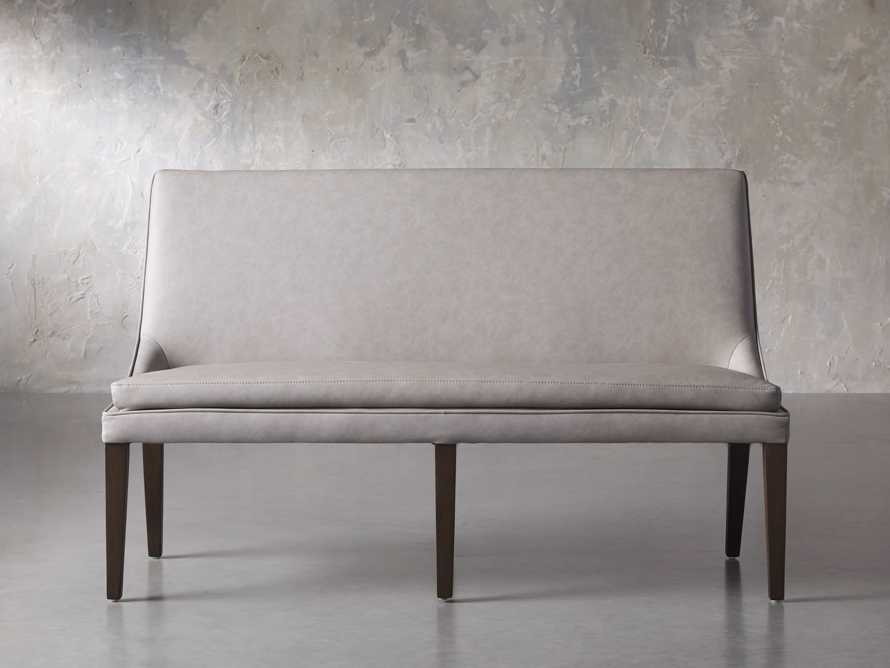 "Lunden 60"" Large Bench in Faux Drift, slide 1 of 7"