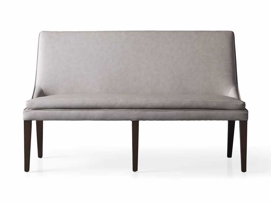 "Lunden 60"" Large Bench in Faux Drift, slide 6 of 7"
