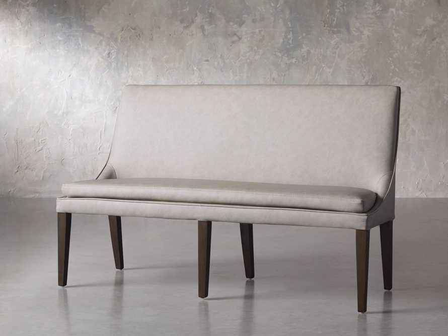 "Lunden 60"" Large Bench in Faux Drift, slide 2 of 7"