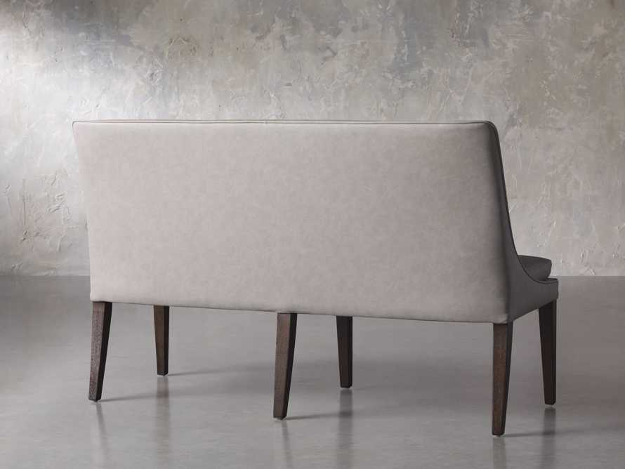 "Lunden 60"" Large Bench in Faux Drift, slide 4 of 7"