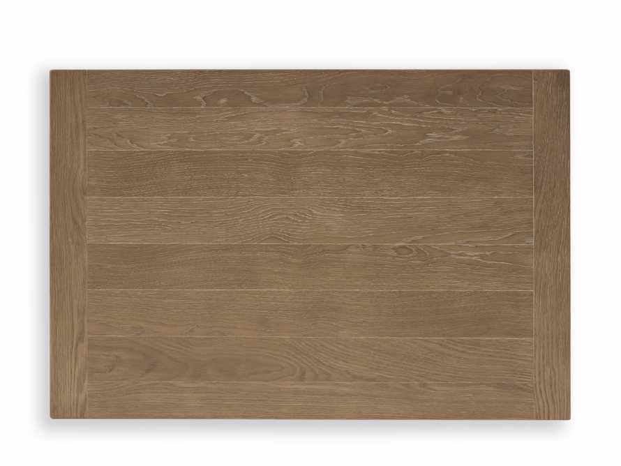 "Luciano 54"" Rectangle Dining Table In Weathered"