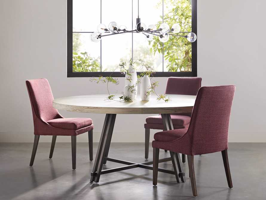 """Lunden Upholstered 20"""" Dining Side Chair, slide 1 of 9"""
