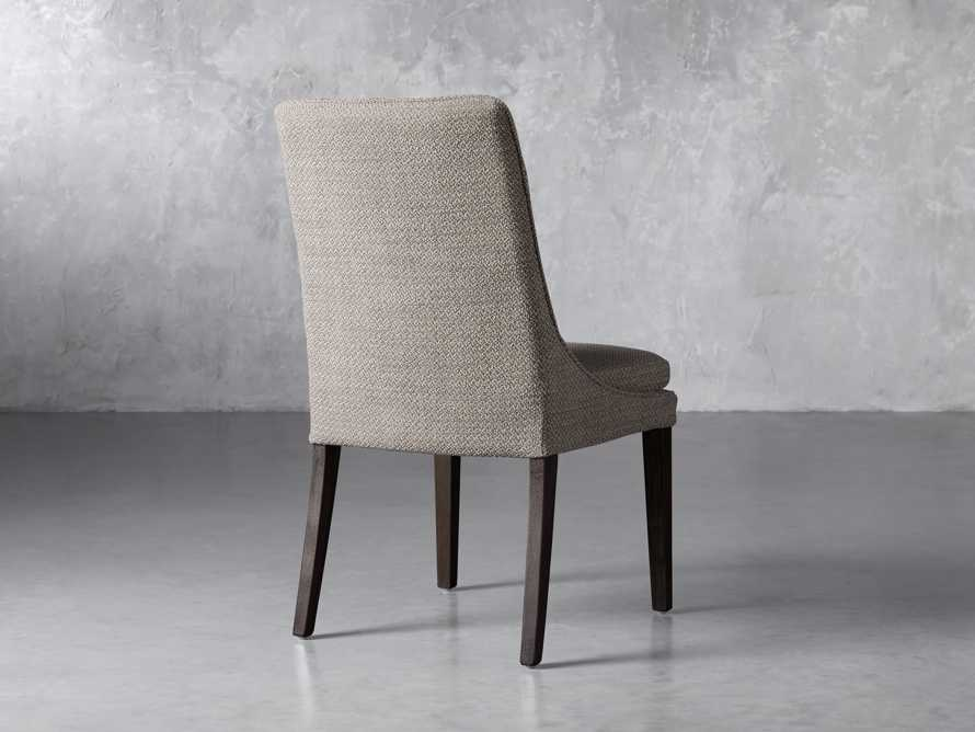 Lunden Upholstered Dining Side Chair in Moto Pumice, slide 4 of 8