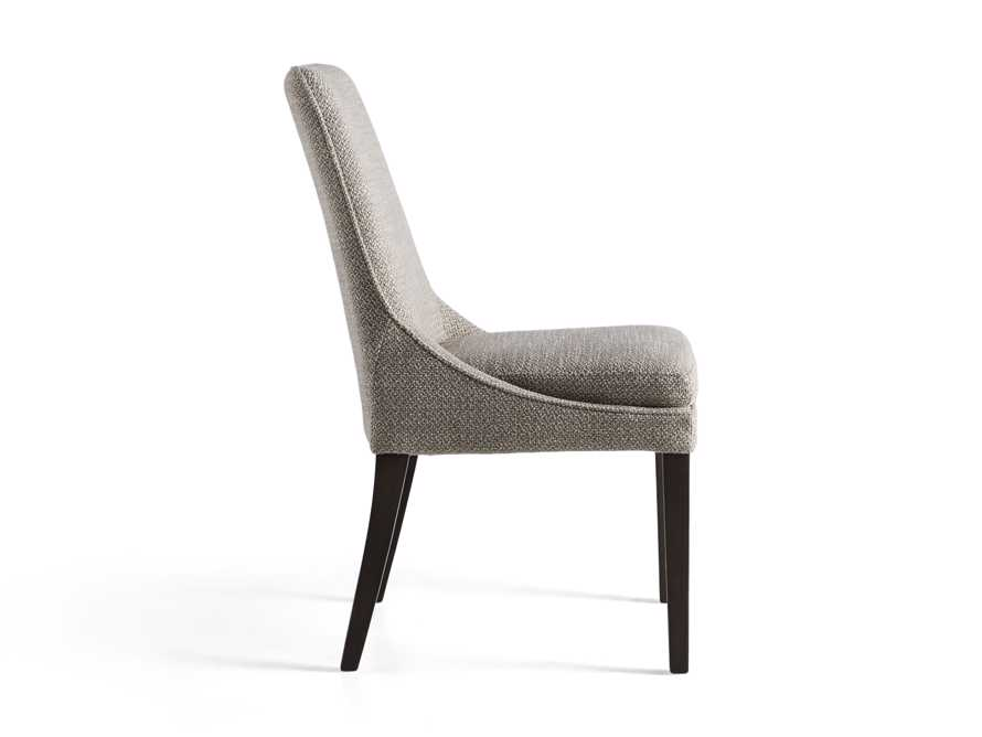 Lunden Upholstered Dining Side Chair in Moto Pumice, slide 8 of 8