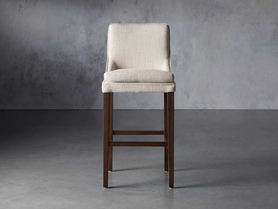 "Lunden Upholstered 19"" Barstool, slide 1 of 9"