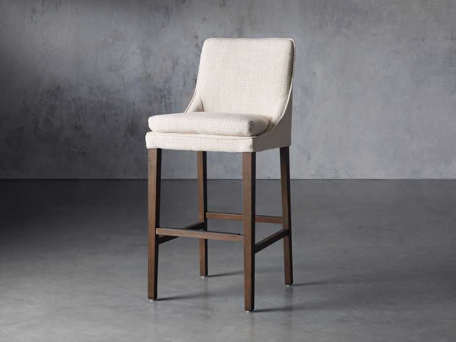 "Lunden Upholstered 19"" Barstool, slide 2 of 9"