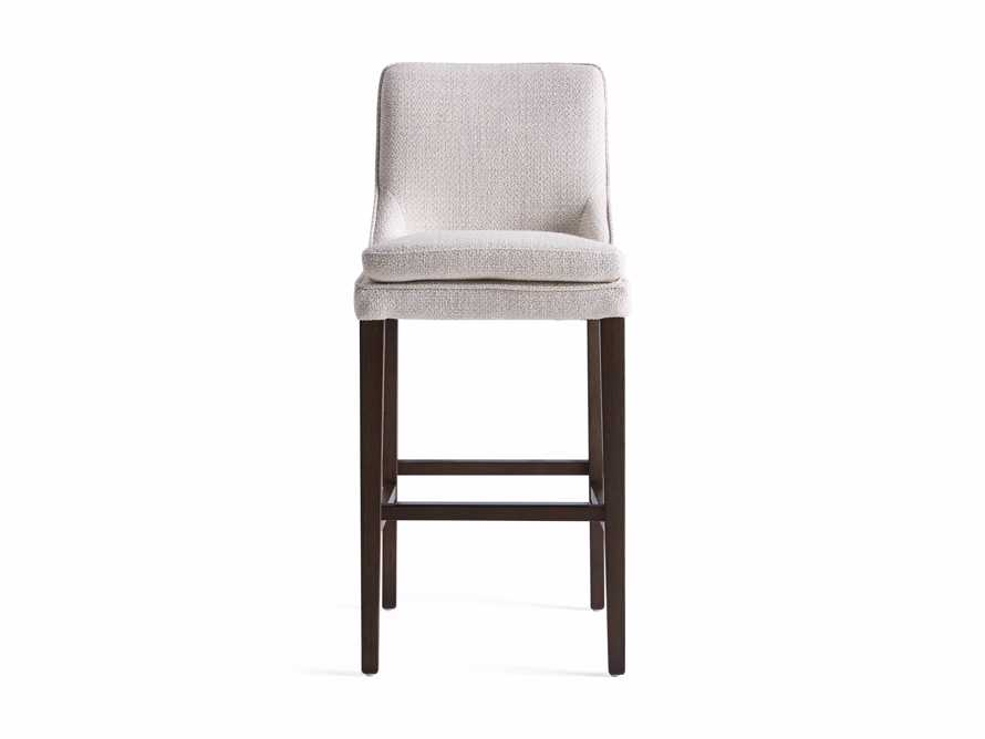 "Lunden Upholstered 19"" Barstool, slide 8 of 9"