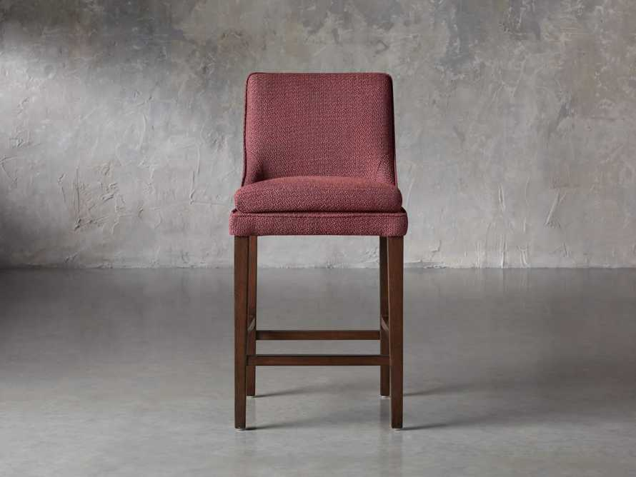 "Lunden Upholstered 19"" Counter Stool in Moto Imperial, slide 1 of 8"