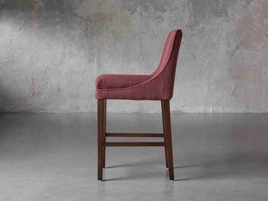 """Lunden Upholstered 19"""" Counter Stool in Moto Imperial, slide 3 of 8"""