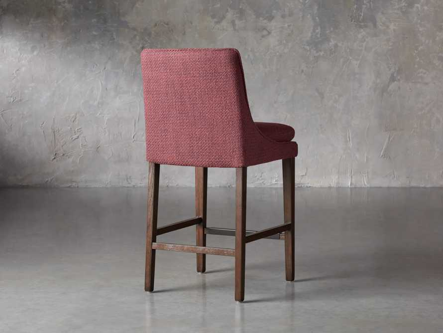 """Lunden Upholstered 19"""" Counter Stool in Moto Imperial, slide 4 of 8"""