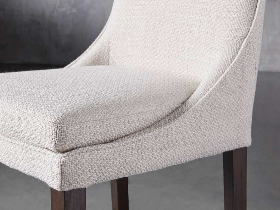 Lunden Upholstered Counter Stool in Moto Stucco, slide 5 of 9