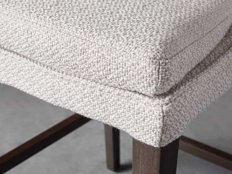 Lunden Upholstered Counter Stool in Moto Stucco, slide 6 of 9