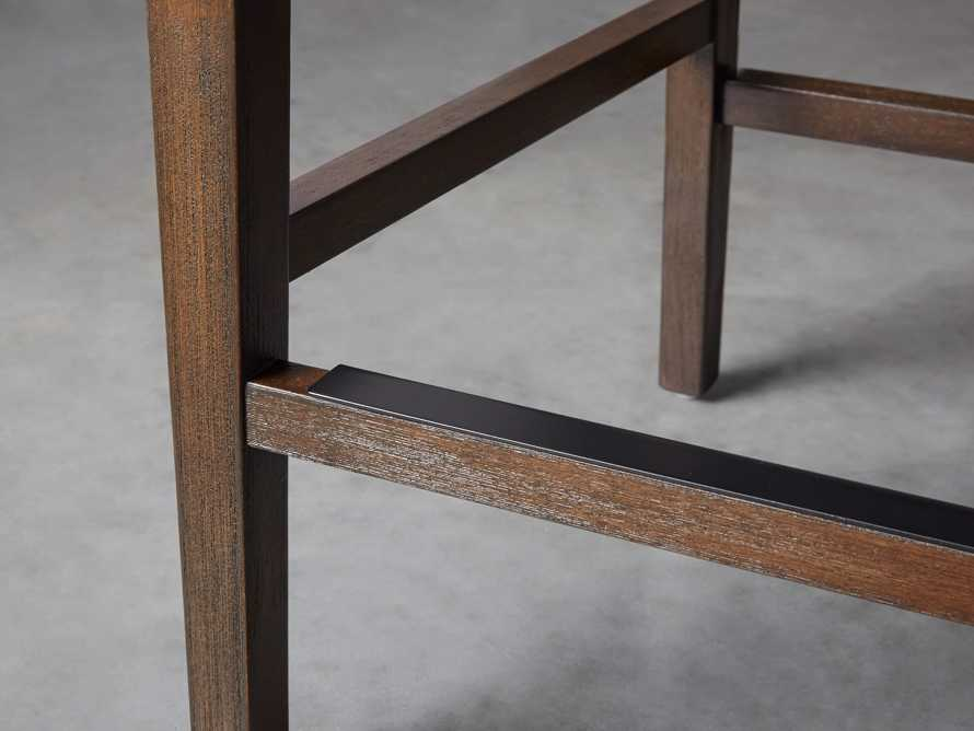 Lunden Upholstered Counter Stool in Moto Stucco, slide 7 of 9