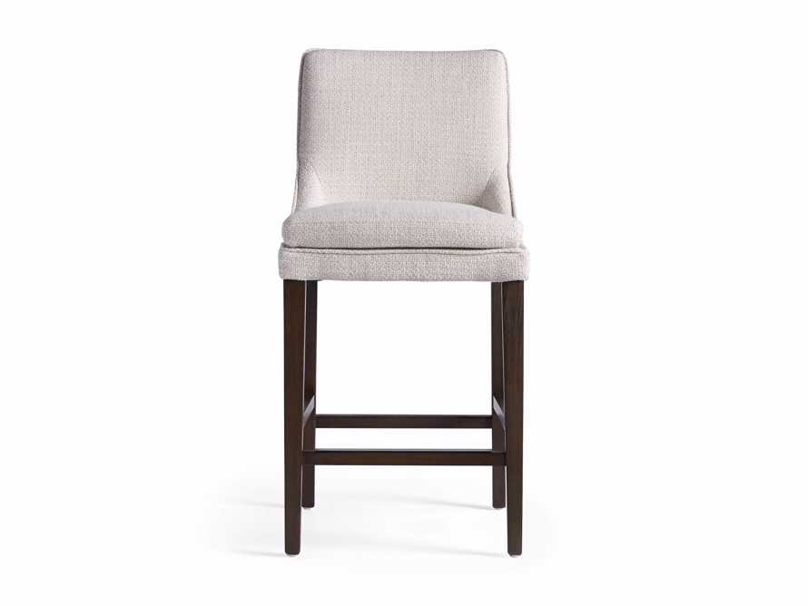 Lunden Upholstered Counter Stool in Moto Stucco, slide 8 of 9