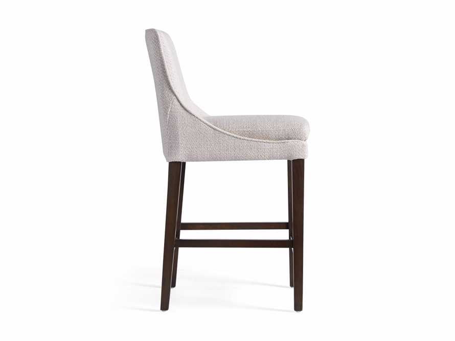 Lunden Upholstered Counter Stool in Moto Stucco, slide 9 of 9
