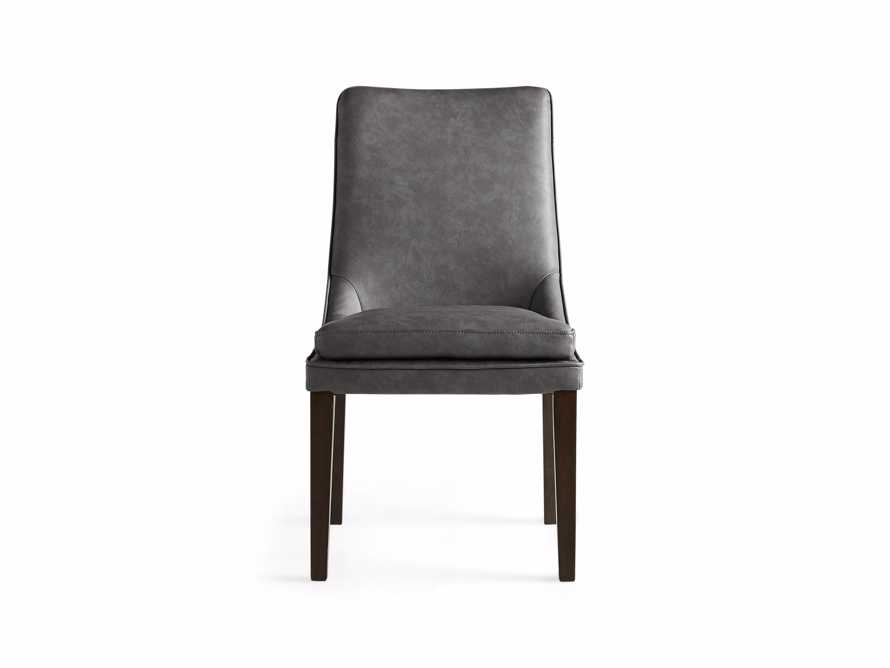 "Lunden Faux Leather 20"" Dining Side Chair, slide 7 of 8"