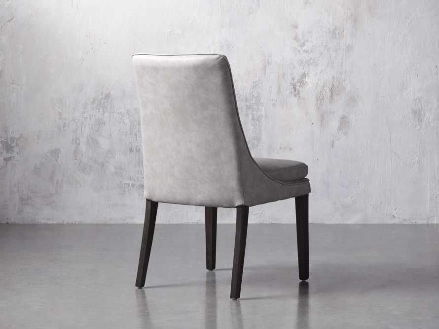 """Lunden Faux Leather 20"""" Dining Side Chair"""