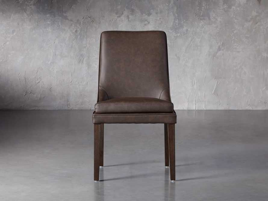 """Lunden Faux Leather 20"""" Dining Side Chair in Espresso, slide 1 of 7"""