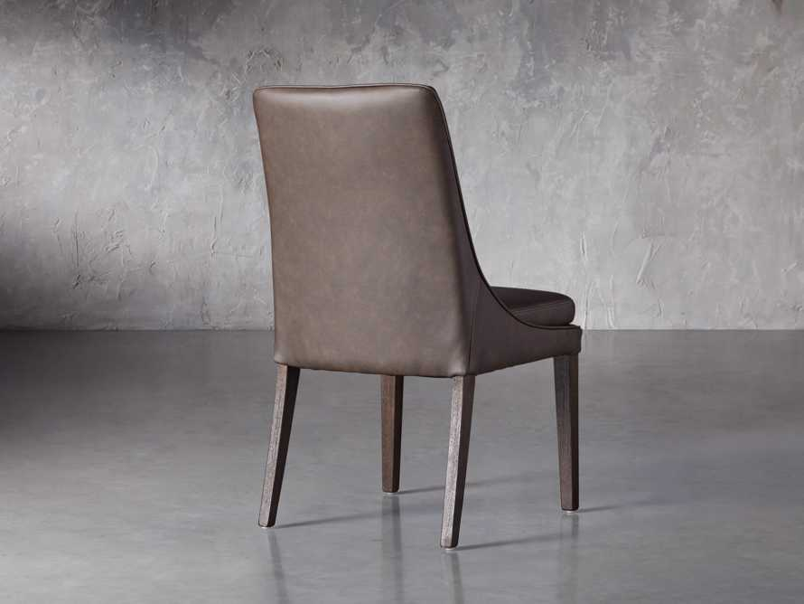 """Lunden Faux Leather 20"""" Dining Side Chair in Espresso, slide 4 of 7"""