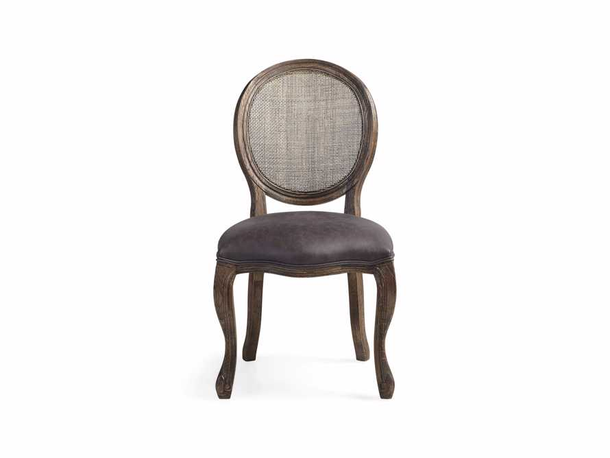 "Margot 23"" Rattan Back Dining Side Chair in Cinder, slide 6 of 9"