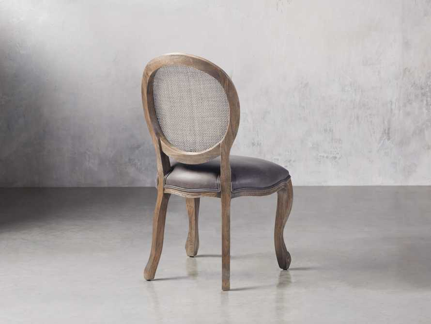 "Margot 23"" Rattan Back Dining Side Chair in Cinder, slide 5 of 9"