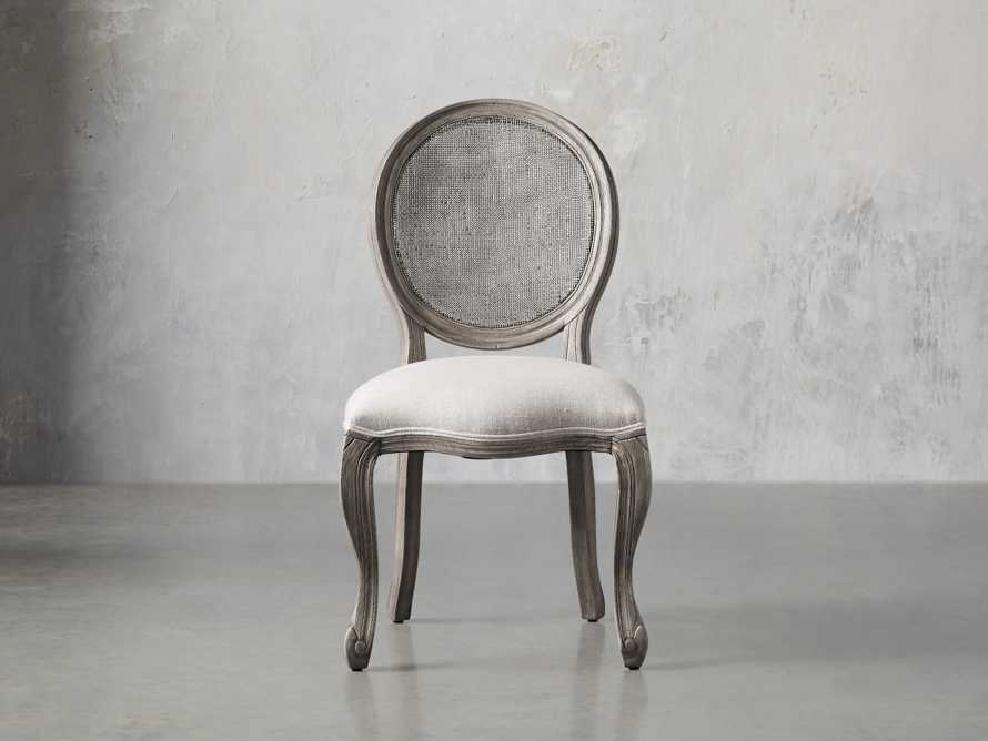 "Margot 23"" Cane Back Dining Side Chair in Vintage, slide 1 of 8"