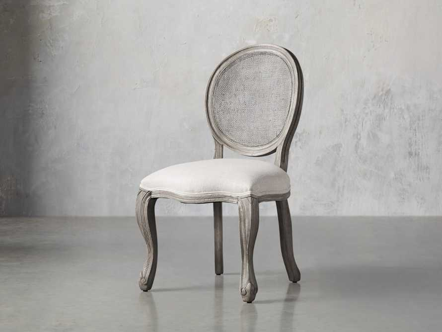 "Margot 23"" Cane Back Dining Side Chair in Vintage, slide 2 of 8"