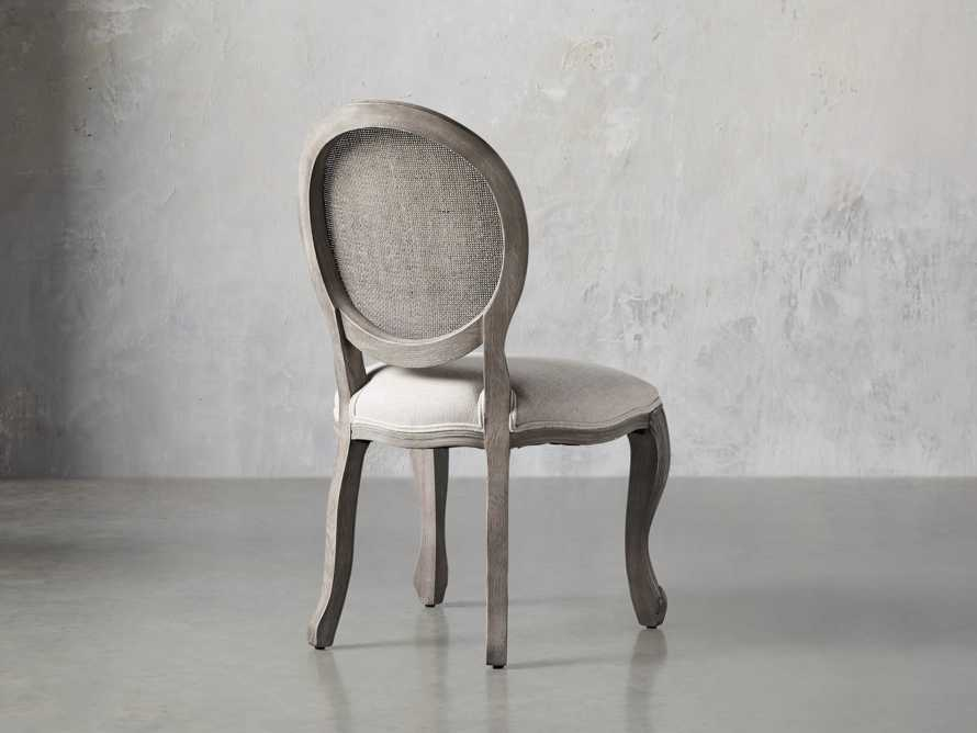 "Margot 23"" Cane Back Dining Side Chair in Vintage, slide 4 of 8"