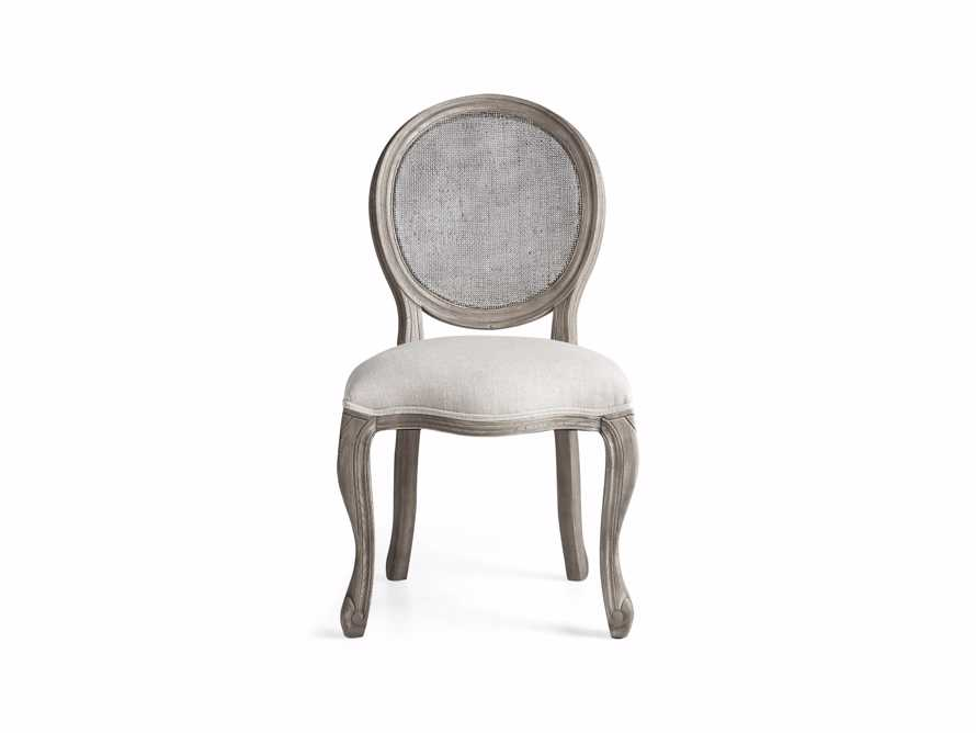 "Margot 23"" Cane Back Dining Side Chair in Vintage, slide 7 of 8"