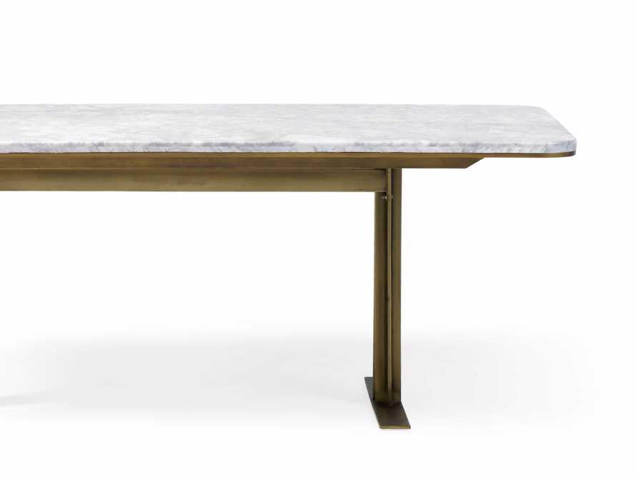 Massa Kitchen Table in Carrara Marble