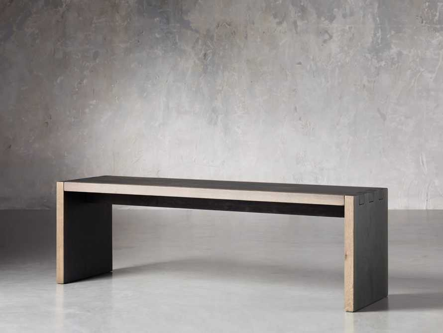 "Mihaela 56"" Dining Bench, slide 2 of 7"