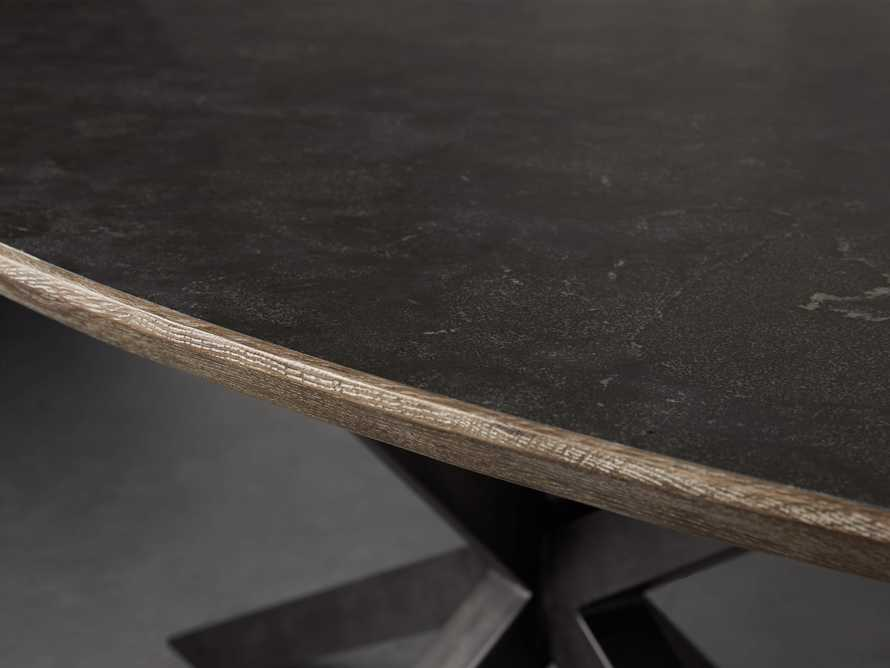 """Meridian 79"""" Oval Dining Table"""